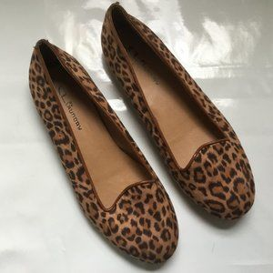 CL By Laundry Game Face Slip on Animal Print Shoes